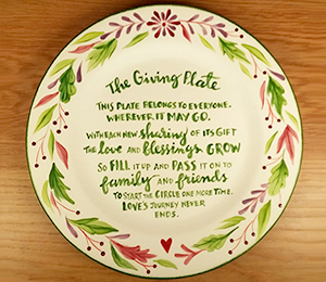 Summit The Giving Plate