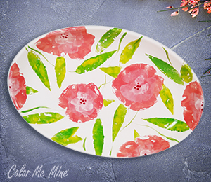 Summit Floral Paper Stamping