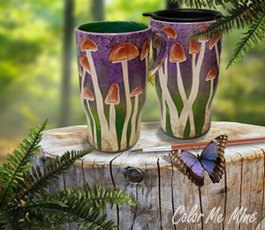 Summit Mushroom Mugs