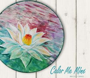Summit Lotus Flower Plate